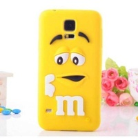 Silicon case for samsung galaxy s5 rubber soft back cover 3d cute mm y