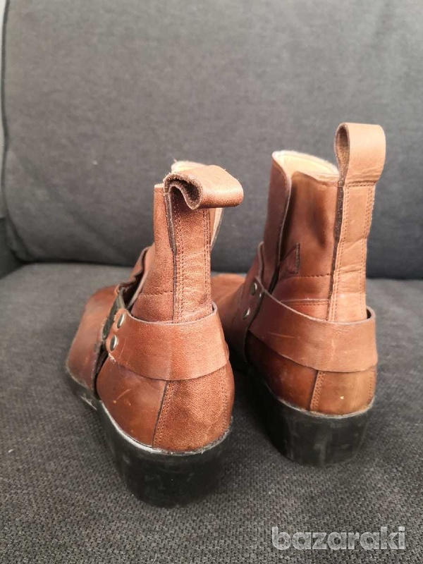 Cherokee motorcycle leather boots 40-4