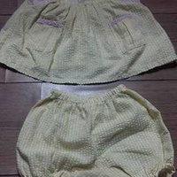 Baby girl's two piece baby set 6-12 months