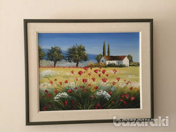 Painting 52wx42h cm with frame-1