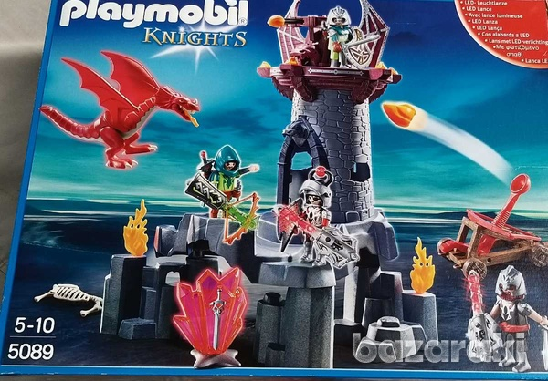 Playmobil 5089 knights battle in the dragon tower-1