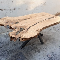 Olive wood dining table