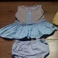 Baby girls dress and knickers set 6-12 months