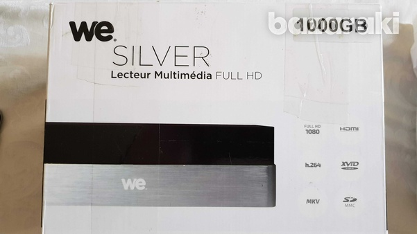 We silver 1000 gb hard disk multimedia recorder and player-1