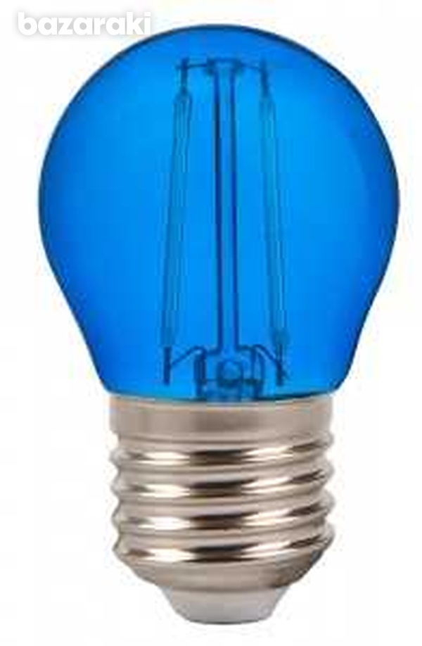 New 2w g45 led blue color filament bulb e27