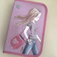 Pencil boxes, purse, pocket-book for a young lady