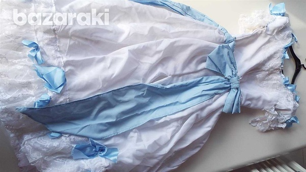 Carnival or bridesmaid, or show costume period dress.-1
