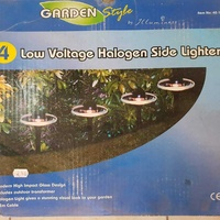 Halogen garden lights