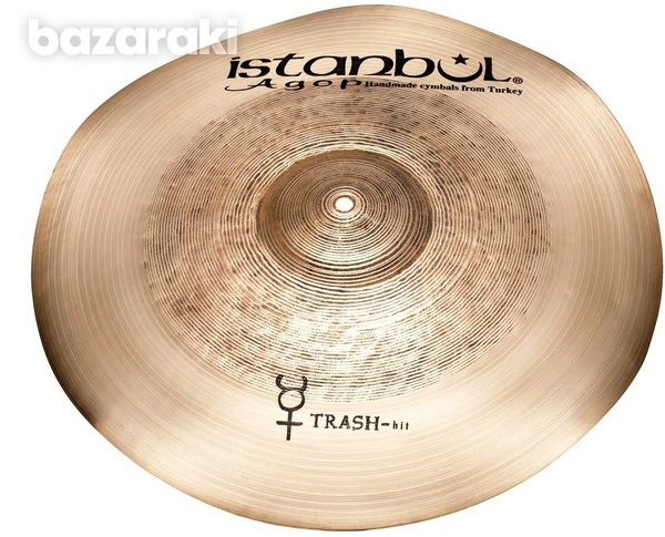 Istanbul agop 10in trashhit splash cymbal hand hammered new