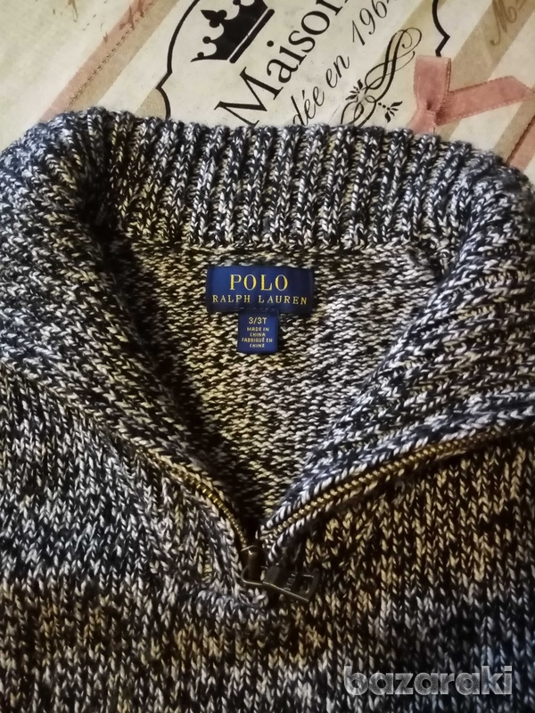 Children's knitted pullover.-2