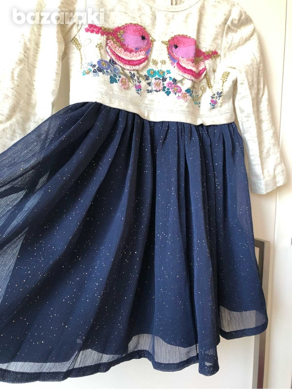 Monsoon dress with embroidery-5
