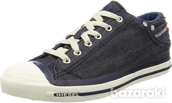 New,diesel casual denim lace-up new shoes size 42-7