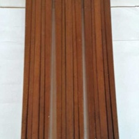 Antique wooden extended tripods for antique wooden cameras, in very go