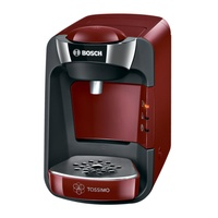 Bosch tas3203 tassimo coffee maker, red