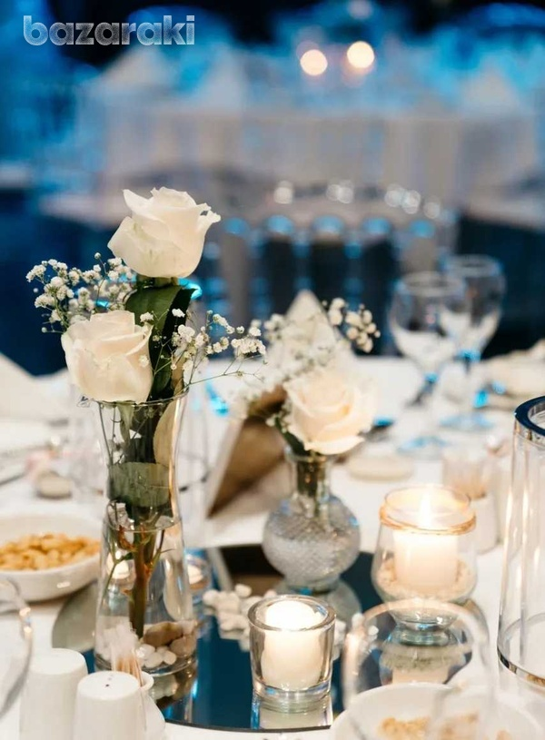 Wedding center piece for 25 tables-4