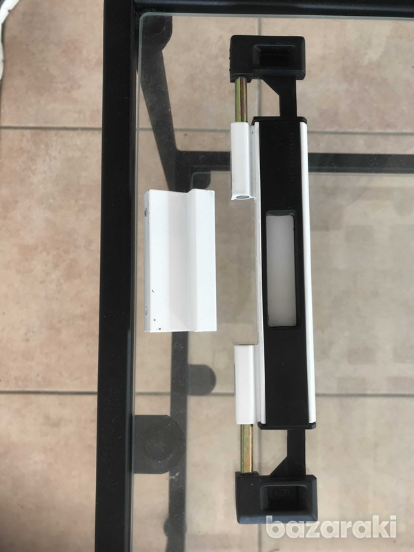 Cal high security locks for patio doors or windows in white and black-7
