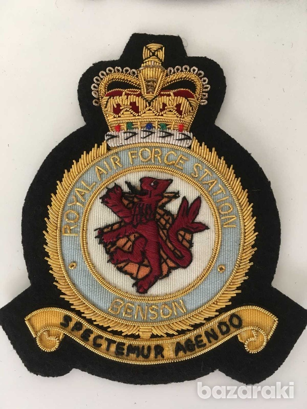 18pcs set of royal air force embroidered patches badges - collectibles-6