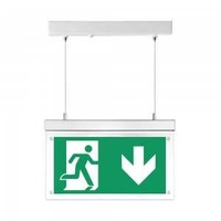 2w surface hanging emergency exit light