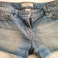 Girls denim shorts, age 8