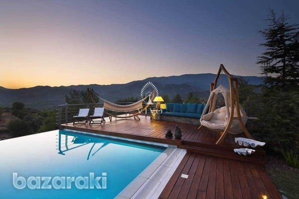 Under construction breathtaking mountain villa with panoramic views-9
