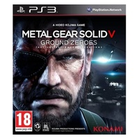 Sony playstation 3 - metal gear solid v ground zeroes - ps3