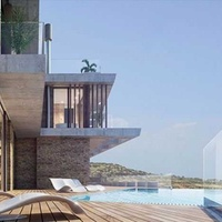 Brand new luxurious 4 bedroom villa with panoramic sea view