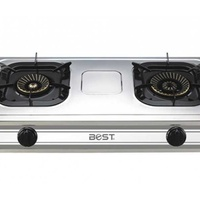 Gas cooker - double ring