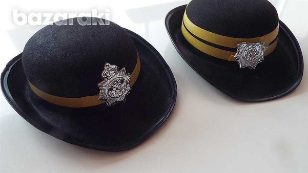 Carnival - pair of traffic wardens hats-2