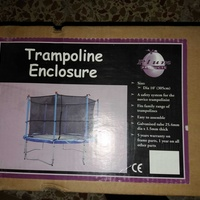 Trampoline enclosure 10 ft