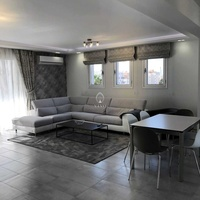 Luxurious modern 3 bedroom apartment close to the beach in neapoli
