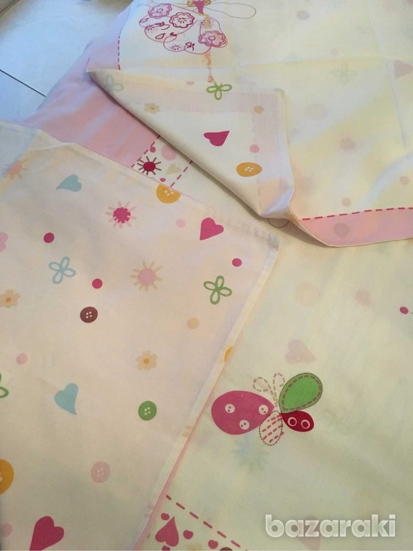 Duvet cover and pillowcase, single bed size-2