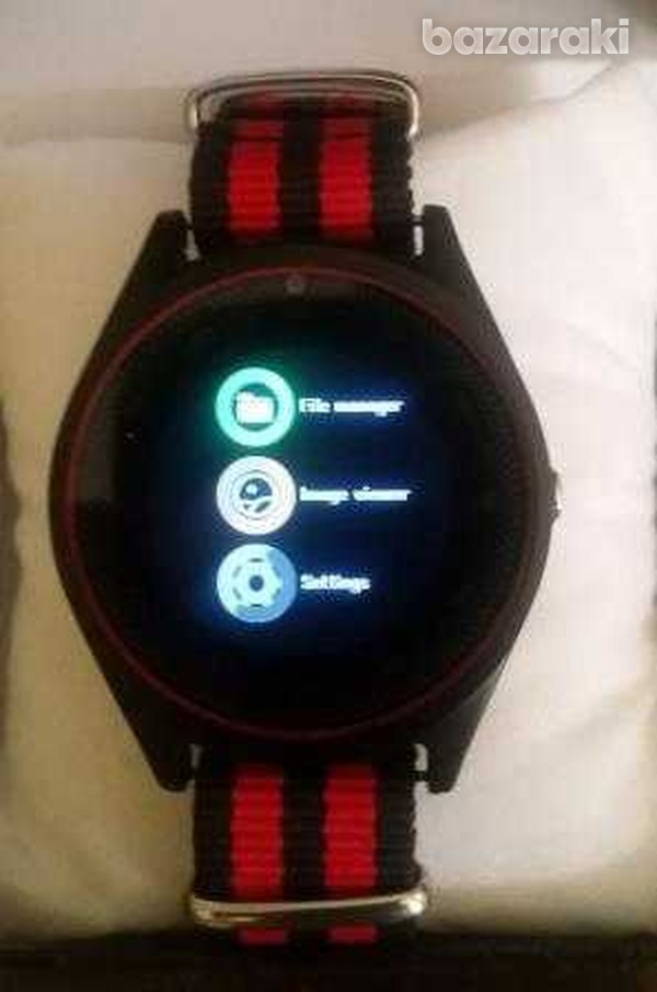 New in v9i smart watch with sim card slot camera bluetooth for android-4