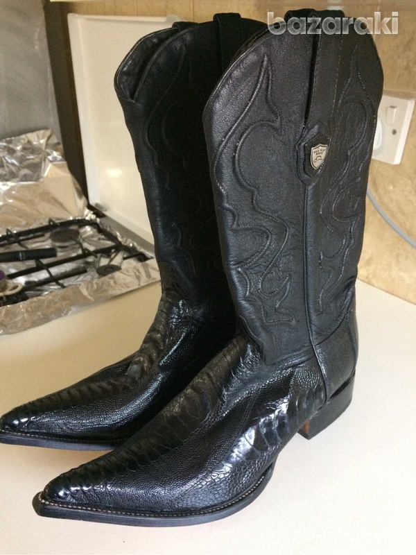 Boots wild west leather-1