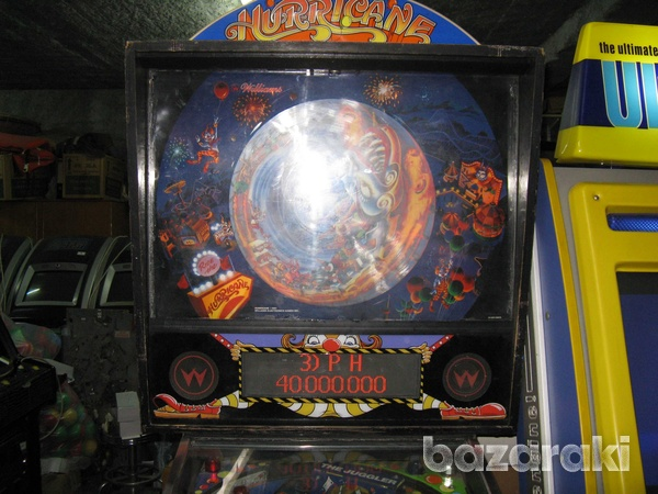 Williams hurricane pinball flipper machine-2