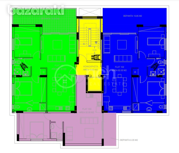 Under construction two bedroom apartment in strovolos-2