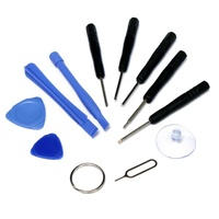 Phone/tablet/computer pry repair kit with 11-tools