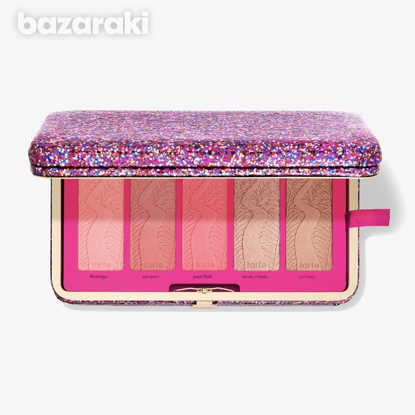 Tarte life of the party clay blush palette and clutch-1