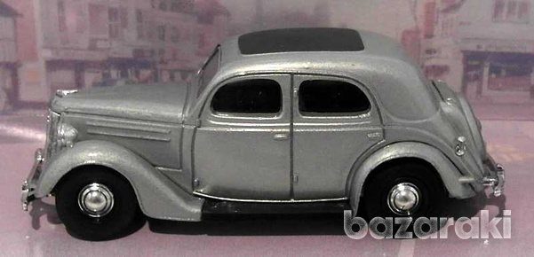 Collectors dinky dy5 b 1950 ford v8 pilot in silver scale 1 43-1