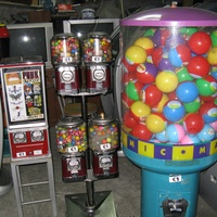 Coin operated dispensers