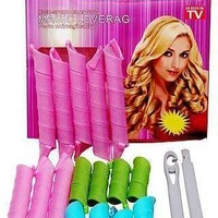 Magic hair curler roller.