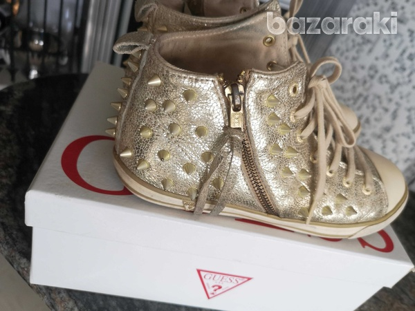 Guess gold trainers size 38-1