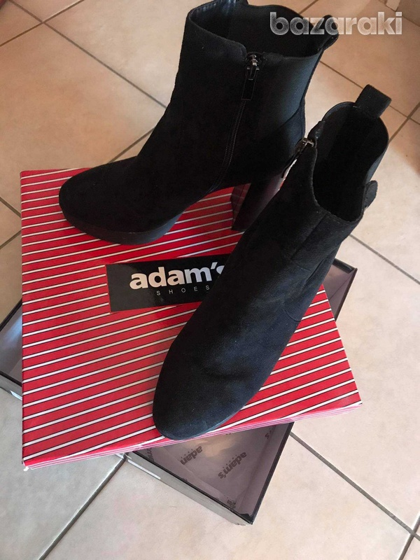 Adams black ankle boots-2
