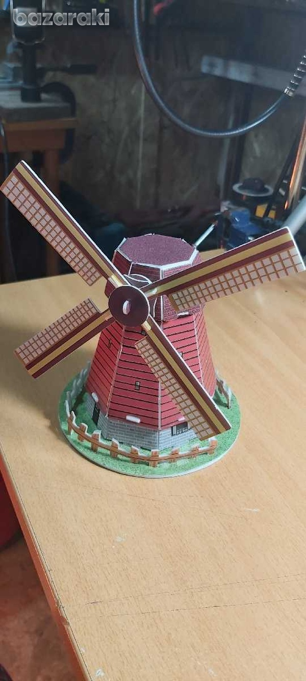 Handmade holland windmill-1