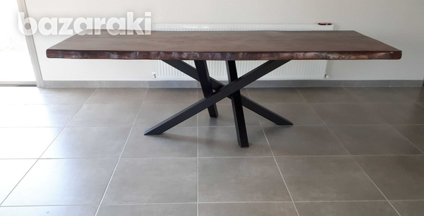 Dining table natural wood-4