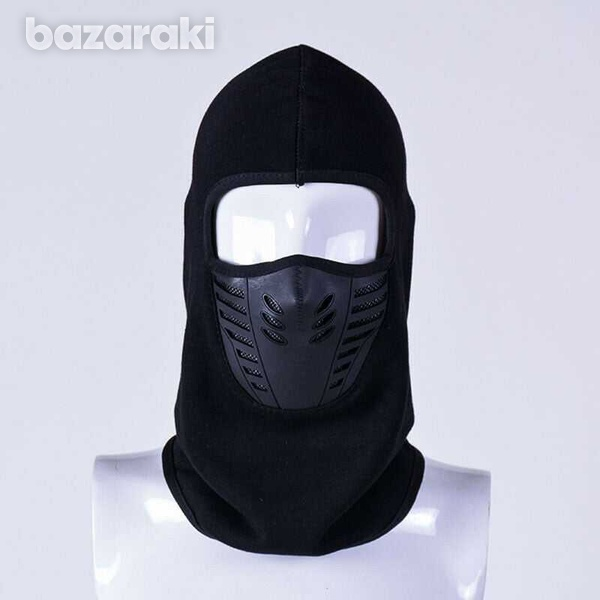Balaclava full face mask neck outdoor ski motorcycle cycling thicken plus velvet-1