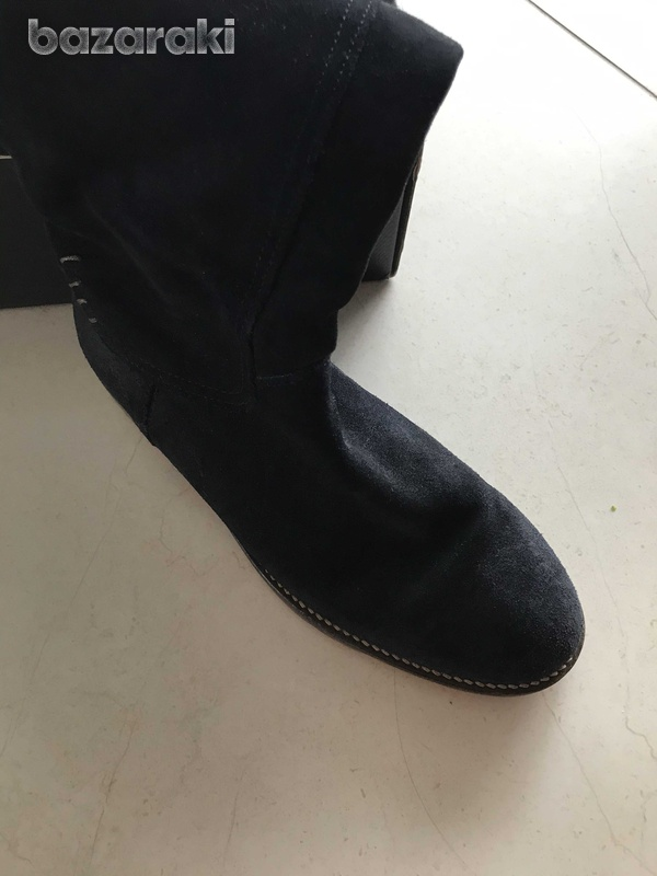 Tommy hilfiger suede boots-4