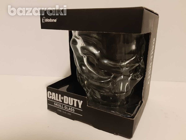 Call of duty collectable skull glass-1