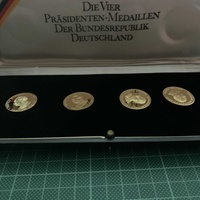 Unique gold german coins
