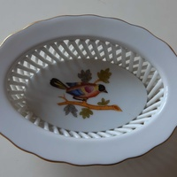 Herend porcelain with bird