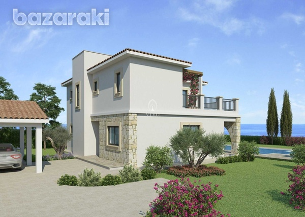 Three bedroom villa close to st george fishing harbour in peyia-7